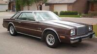 1980-83 Chrysler Cordoba Coupe (2 door) parts car