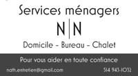 Services ménagers N.N