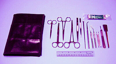 Comprehensive Anatomy Dissection Kit 15 Instruments
