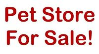 Pet Store For Sale