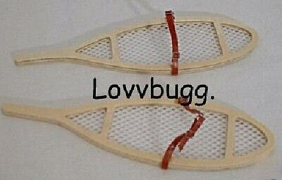 "Lovvbugg Snow Shoes Kirsten for 18"" American Girl Doll Clothes"