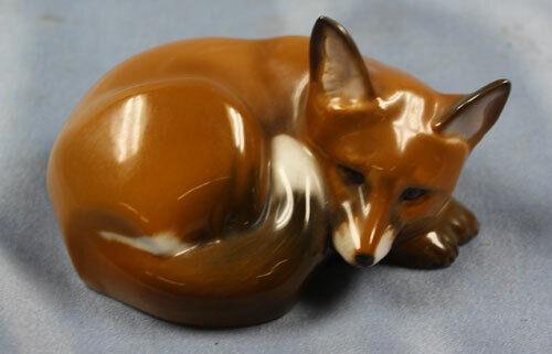 fox porcelain Rosenthal figurine porcelainfigurine sinko fuchs