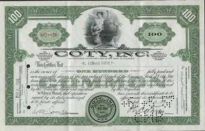 Coty, Inc., 1940s, green