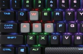 K65 RGB RAPIDFIRE Compact Mechanical Gaming Keyboard Cherry MX Speed RGB FAST