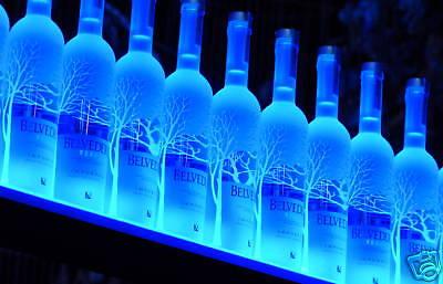 Armana Acrylic New 33 Wall Mount Liquor Shelves 2 9 Led Lighted Bottle Shelf