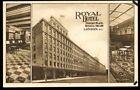 London Hotel Advertising Postcards