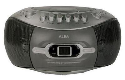 ALBA CBBCAS3 Stereo CD/ Radio Boombox with Cassette Player (R 5135444 AV)