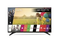 LG 43LH604V 43 inch 1080p Full HD Smart TV WebOS - Black