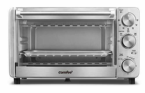 Toaster Oven, 12L, Multi-function Finish with Timer 4 Slice Stainless Steel