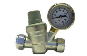 Hercules Water Pressure Reducing Valve PRV Brass 15MM & 22MM Fitting Chrome