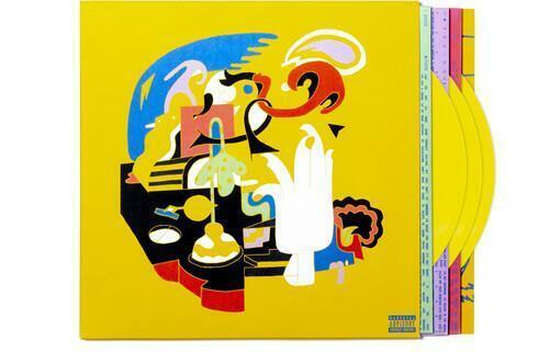 Mac Miller - Faces [Yellow Vinyl] [3-lp] NEW Sealed Vinyl LP Album