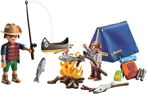 Playmobil Camping Play Set Building Toy Kids Toy Boy Girl Ca