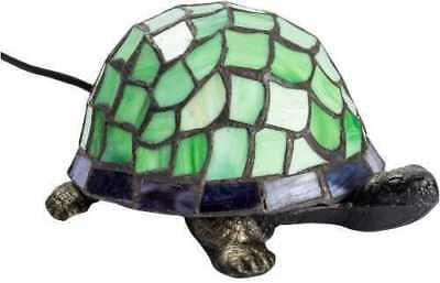 Lampada Abatjour Vetro TIFFANY tartaruga (Tartaruga Verde)