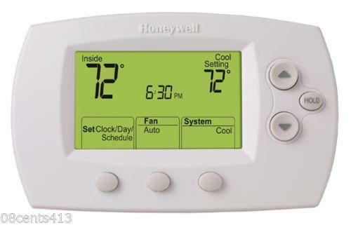 Honeywell heat pump thermostat ebay