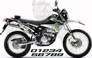 Kawasaki Monster Decals