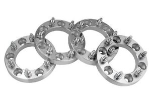 """1"""" 1/2 Wheel spacers chevy 1500 6 bolt"""