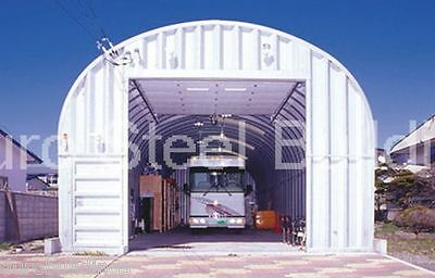 Durospan Steel 30x40x15 Metal Garage Workshop Storage Building Factory Direct