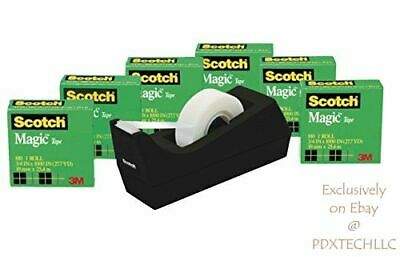 Scotch Applications Invisible  Magic Tape 6 Rolls With Dispenser Numerous