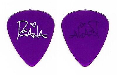 Deana Carter Clear Purple Signature Guitar Pick 1996 Tour