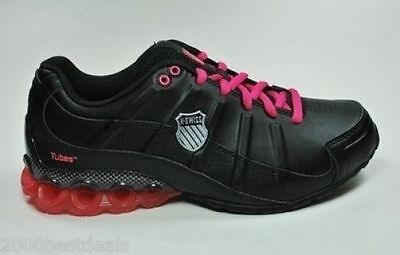 K-Swiss Clear Tubes 50 Black Pink Women Shoes