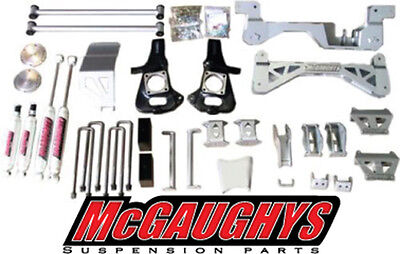 "McGaughys 7"" Lift Kit 2002 - 2010 Diesel Chevy GMC Truck 3500 Dually 2WD 52001"