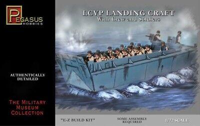 PEGASUS 1//72 LCVP Landing Craft PGS7650 Snap