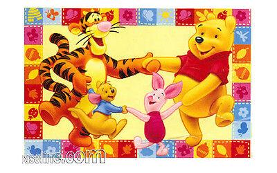 Tappeto Winnie the Pooh e Amici Tigro Pimpi Ro Girotondo Giallo 100x170cm...