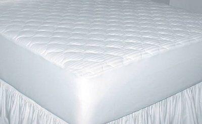 250-Thread-Count Cotton Damask Stripe Mattress Pad Twin XL, -