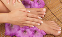 Pamper yourself! Manicures and Pedicures