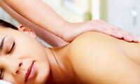 Massage therapy open 7 days/wk in Oakville