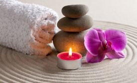 Relaxation massage by Indian therapist