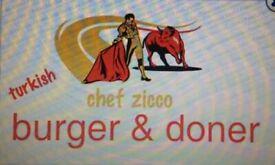 Turkish döner burger consept