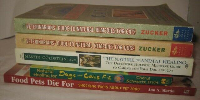 5 Veterinary Guide Books to Holistic Natural Remedies to Healing + Pet Food Fact
