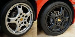 CHANGE the COLOR of your Car's RIMS with Removable Paint