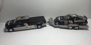 1999 Dale Earnhardt Goodwrench Service Crew Cab, Trailer & Car