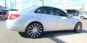 2010 Mercedes-Benz C200 CGI W204 MY10 Classic Silver 5 Speed Sports Automatic Sedan