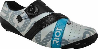 Bont Riot Carretera + Boa Ciclismo Zapato Euro 50 Pearl Blanco / Negro