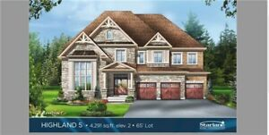 Assignment Sale 5 Bed 5 Bath Detached Vales of Humber Brampton