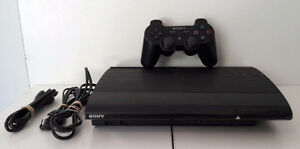 Ps3 ultra slim 500GB 12 Games