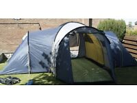 lichfield arapaho 6 dlx 6 berth camping tent & carry bag used once