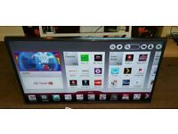 LG 42 inch supper slim line smart led with remote control