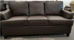 New in Boxes!  Sofa in a Brown PU Now Just $499 Taxes Included with FREE DELIVERY within the HRM!