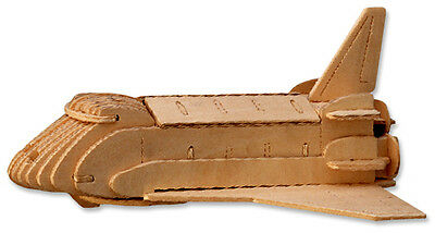 3 D Wooden Puzzle   Space Shuttle Model   Gift Item  Brand New