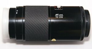 Objectif Minolta AF 70-210 F4 (Beercan) comme neuf