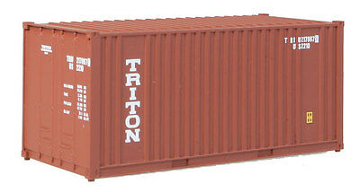 H0 Container 20 Fuß Triton -- 8004 NEU