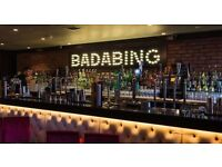 Badabing, Part Time Team Member required