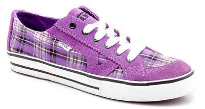 Plaid Schuhe (Vans Schuhe Tory Plaid Purple)