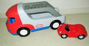 ~Little Tikes ~  CAR CARRIER & Red SPORTS CAR