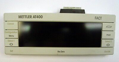 Mettler Toledo At400 Analytical Balance Scale Deltatrac Digital Vfd Display