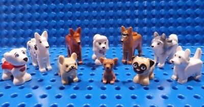 Land Dog Medium Dark Flesh Chihuahua Animal 10255 10677 21302 NEW LEGO